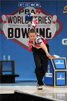 Chris Barnes he was the first bowler I ever watched on PBA