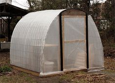 3 Easy DIY Greenhouses for Under $300 : TreeHugger