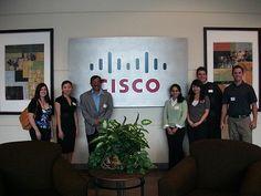 Class Visit to Cisco in San Jose.