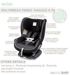Peg Perego Convertible Car Seat review