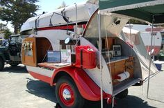 teardrop camper interiors | Teardrop Trailer Pictures and Tent Trailer Pictures, from OldTrailer ...