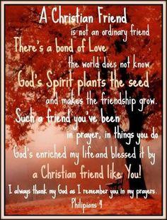 Christian friends online