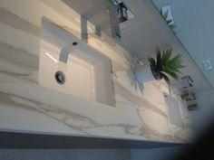 Calacatta Oro - marble vanity top.