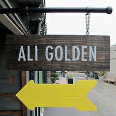 STUDIO — ali golden Temescal alley, Oakland