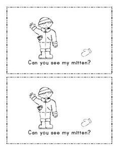 The Mitten Emergent Reader Mini Book