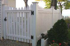 Good Neighbor Cedar Picket Fencing by Elyria Fence