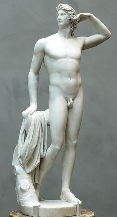 Canova-Apollo Crowning Himself-Paul Getty Museum, Los Angeles, 1781