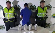 La Policia Nacional saca de circulacion 8 mil dosis de estupefacientes en el Meta