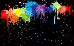 Wallpapers Rainbow Dash Abstract Rainbooom Mlp Painting Brush Colourful Colours Cartoon   1920x1200