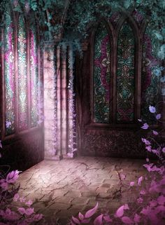 A rose room to muse in..