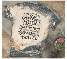 Gebleichte Shirts, Sassy Shirts, Vinyl Shirts, Cute Shirts, Shirts For Girls, Band Shirts, Southern Girl Shirts, Southern Outfits, Country Shirts