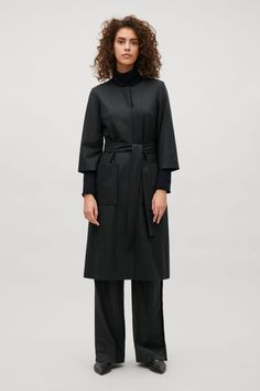 COS | Belted wool dress