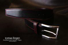 Ručně vyrobený opasek z kůže bombírovaný na zakázku Leather Belts, Accessories, Jewelry Accessories