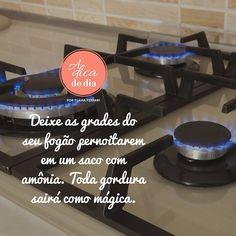Olha a Dica da Noite para amanhã seu fogão acordar limpíssimo  #adicadodia #dicas #flaviaferrari #limpeza #organização #donadecasa #fogao