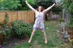 English Girl At Home's new pattern: Lou Lou dress English Girls, Girl House, Lady, Pattern, Dresses, Fashion, Vestidos, Moda, Fashion Styles