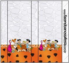 Rótulo Nescauzinho Os Flintstones: