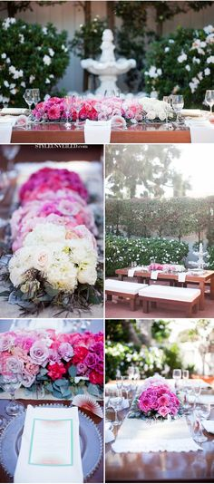 Gorgeous #Ombre Wedding Ideas
