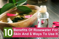Rosewater offers innumerable skin benefits & it can be added to your skin care routine without any doubt. Know how beneficial is rosewater for skin & the ways it can be used.