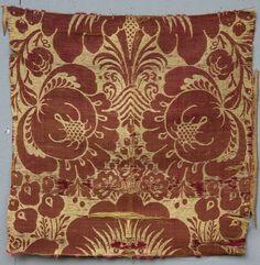 Italian Textile Fragment 1600s