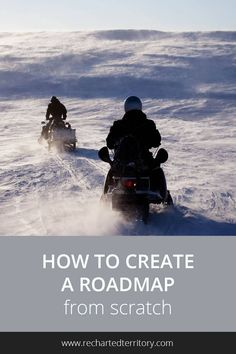 How to create a roadmap from scratch