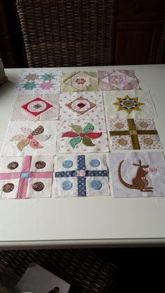 Stonefieldblokken Maand 2 #Klara #Quilts and More