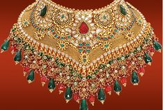 Indian bridal wear.