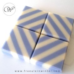 Stripes - Handmade soap by Fraeulein Winter