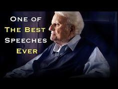 Billy Graham Sermons, Pastor Billy Graham, Billy Graham Family, Rev Billy Graham, Billy Graham Quotes, Paul Harvey, Best Speeches, Christian Videos, Lion Of Judah
