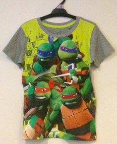 BNWT Licensed Boys TMNT Ninja Turtles T-Shirt - Sizes 2 & 6  | eBay
