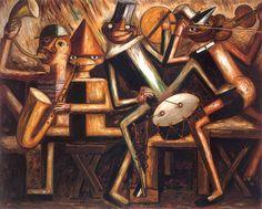 Tadeusz Makowski - Jazz, 1929