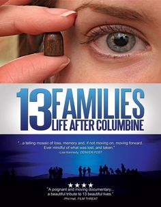 "13 Families: Life after Columbine - Nicole Corbin, Mark Katchur, Steve Lukanic 2010 - DVD05721 -- ""The shootings at Columbine High School on April 20th 1999 ended 13 lives & shattered countless others. But while the tragic events of that day were well documented, the stories of the families who lost loved ones & struggled to build new lives have yet to be told. The families provided the filmmakers exclusive & unprecedented access, sharing insightful & intimate details of their lives..."""