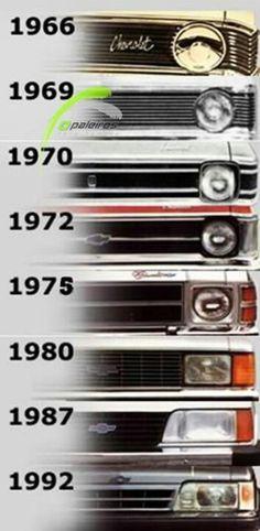 Evolução do Chevrolet Opala