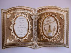 Handmade Bookatrix For Engagement Wedding Anniversary Cards, Wedding Cards, 100th Birthday Card, Pop Up Card Templates, Card Book, Glitter Girl, Engagement Cards, Shaped Cards, Beautiful Handmade Cards