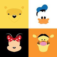 Minimalistic Disney Series on Behance