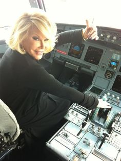 """Happiness is when you're too busy to wonder if you're happy or not."" Joan Rivers {RIP 09.04.14}"
