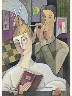 Bela De Kristo (1920-2006) - Chez le Coiffure
