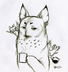 owl griffin drawings - Google Search