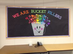 Have you filled a bucket today themed Wall deco.~Zayra, Linda and Robert