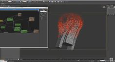 Thinking Particles In 3ds Max Mesh Reconstruction Effect