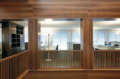 Bürogebäude in Basel, Vittorio Magnago Lampugnani, Joos & Mathys Architekten Basel, Divider, Construction, Windows, Curtains, Architecture, Offices, Room, Furniture