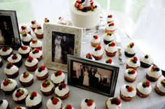 Real Rustic Barn Wedding Wedding Real Weddings Photos on WeddingWire pics of parents/grandparents wedding.how sweet! Reception Table, Wedding Reception, Our Wedding, Cute Cupcakes, Wedding Cupcakes, Wedding Gallery, Wedding Photos, Rustic Elegance, Rustic Barn