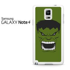 Head Hulk Samsung Galaxy Note 4 Case