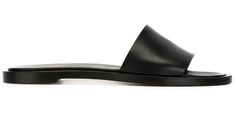 Common Projects sandals, $360, farfetch.com - Slides, Baby