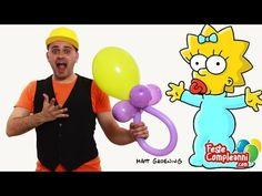 Baby Shower Balloon - Decorazioni per Battesimo - Baby Shower decoration balloon. Ciuccio gigante con palloncini.  Decorazioni per Battesimo - Ciuccio Gigante - Vediamo insieme come costruire con i palloncini modellabili una scultura a forma di Ciuccio Gigante per festeggiare il Battesimo. Non perdetevi questo video tutorial.
