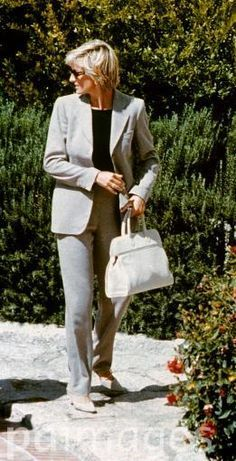 August 30, 1997: Diana, Princess of Wales on her way to the airport in sardinia…