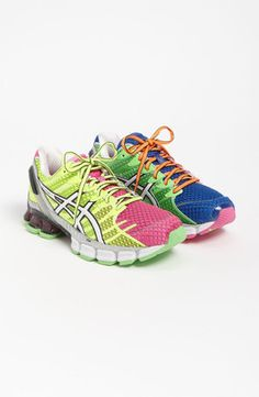 In love with these running shoes! It's like a rave for your feet.