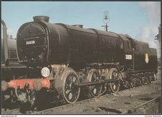 British Railways Bulleid 'Austerity' Class No 33028 - Loco 100 Postcard British Railways, Southern Railways, Southern Trains, Lego City Train, Steam Railway, Railway Posters, Great Western, Steam Engine, Steam Locomotive