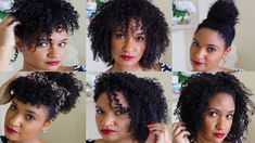 In this video I share seven easy hairstyles for natural hair. These looks are perfect when you're in a rush, on the go, or just need a quick change of hairst...