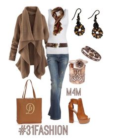 I would so rock this outfit! Love the bag, the shoes and sweater!! #31fashion www.mythirtyone.com/apeterson86