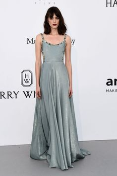 STACY MARTIN at Amfar's 24th Cinema Against Gala at Cannes Film Festival